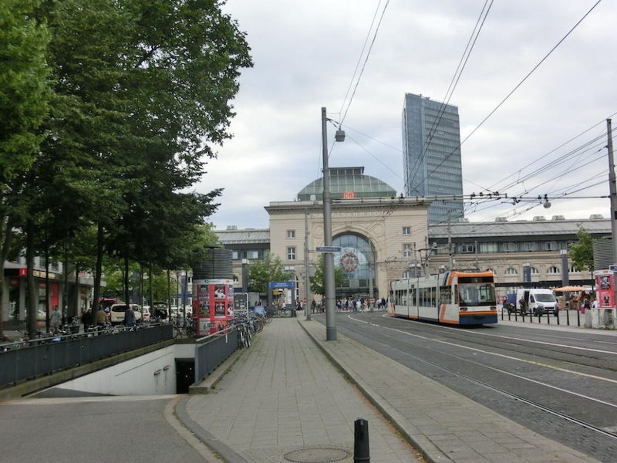 Lage/Hauptbahnhof