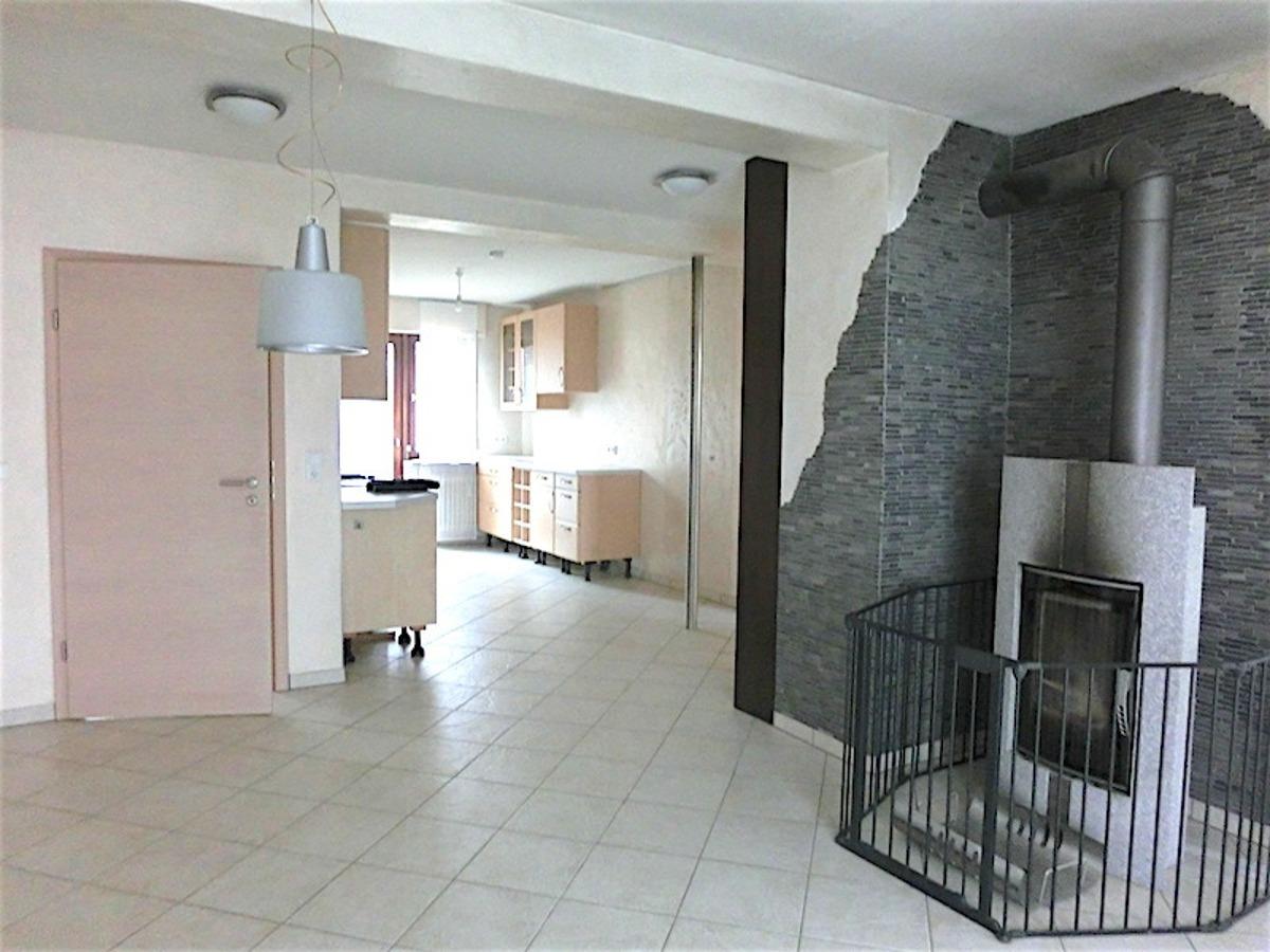 Wohnzimmer/Küche im EG