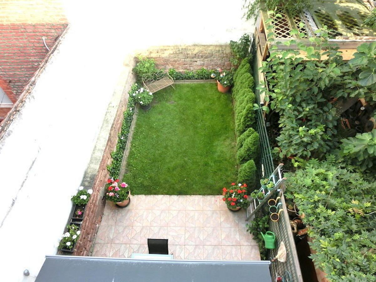 Garten-Terrasse-Draufsicht