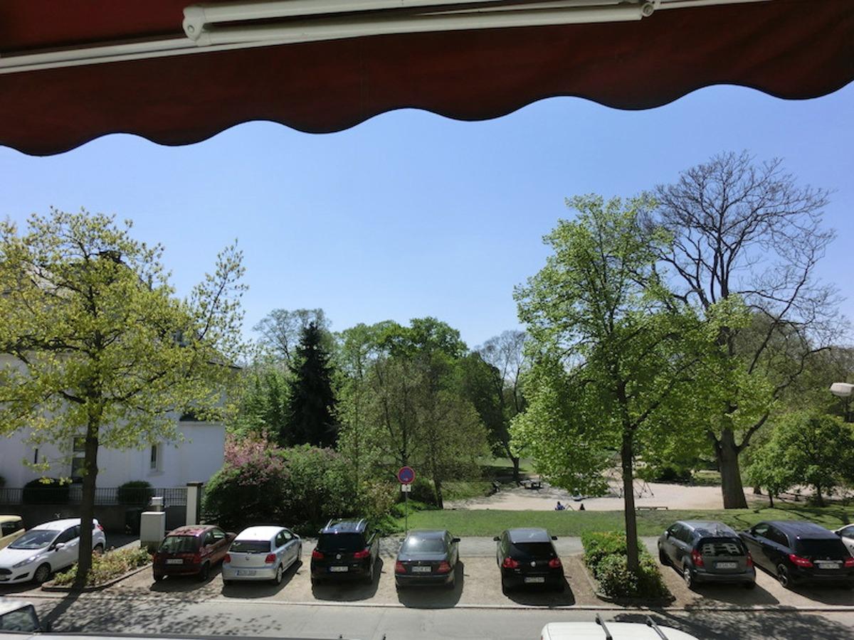 Blick auf Luisenpark