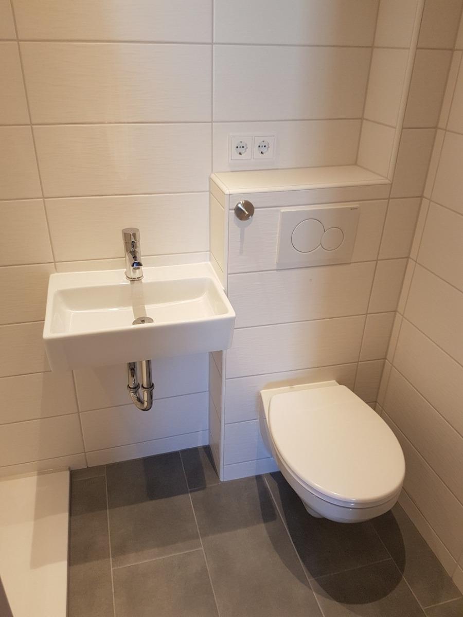 Badezimmer kl. Wohnung 2. OG