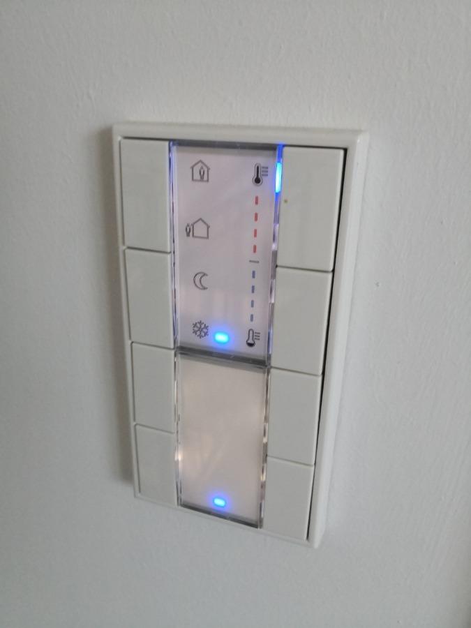Steuerungseinheit Heizung/Licht
