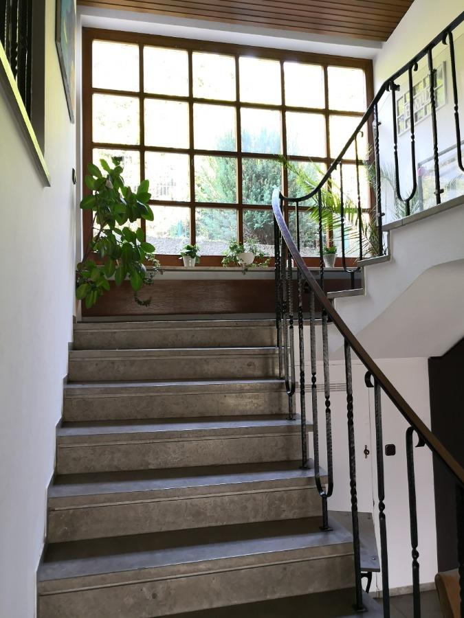 offen gestaltetes Treppenhaus
