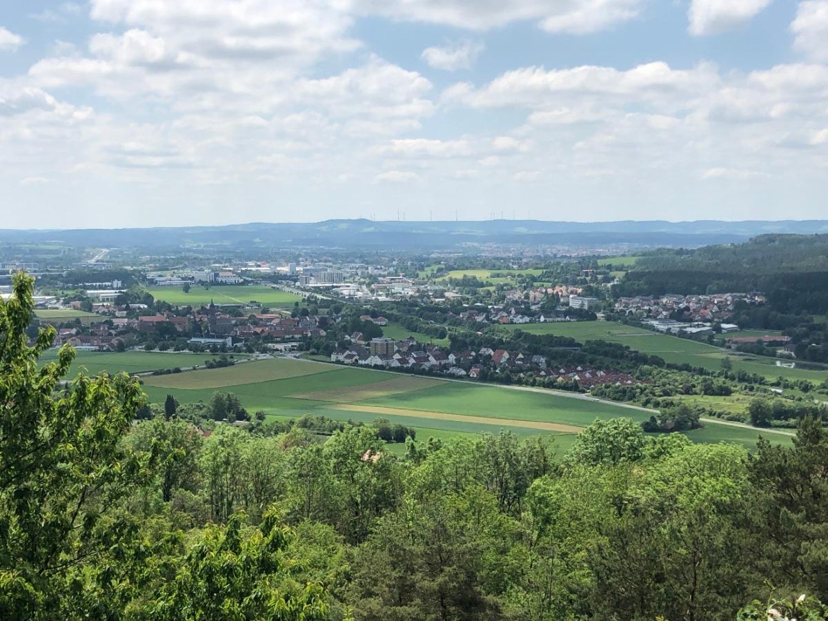 Fernblick über Bayreuth