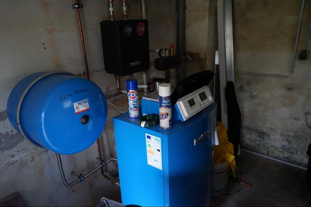 neue Gaszentralheizung