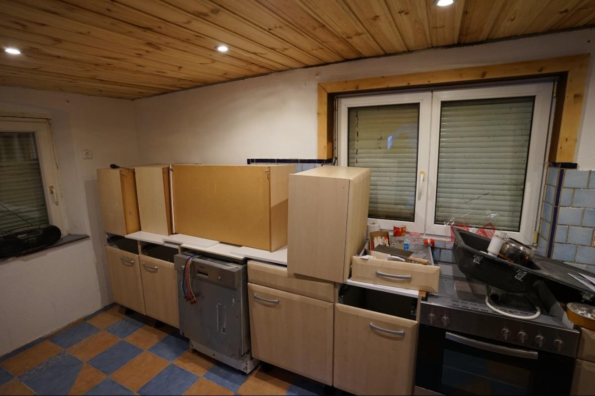 Küchenbereich Altbau