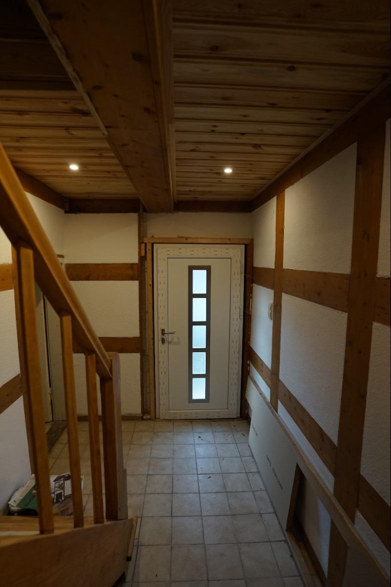 Eingangsbereich Altbau