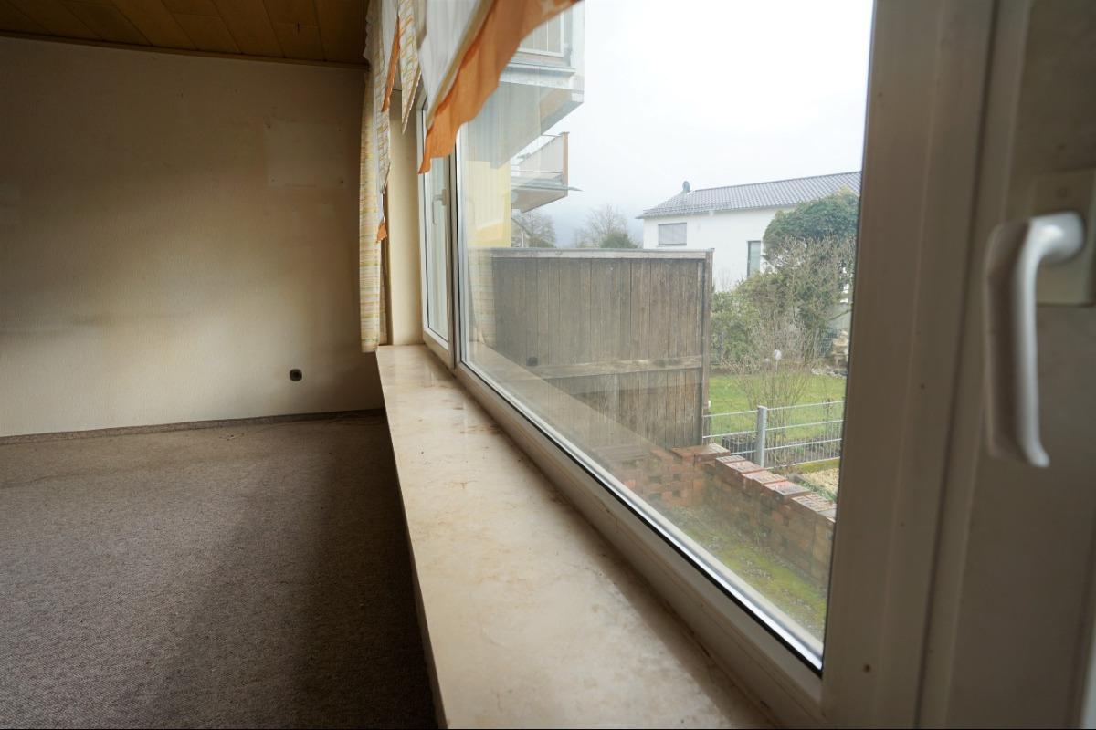 Fensterfront Garten
