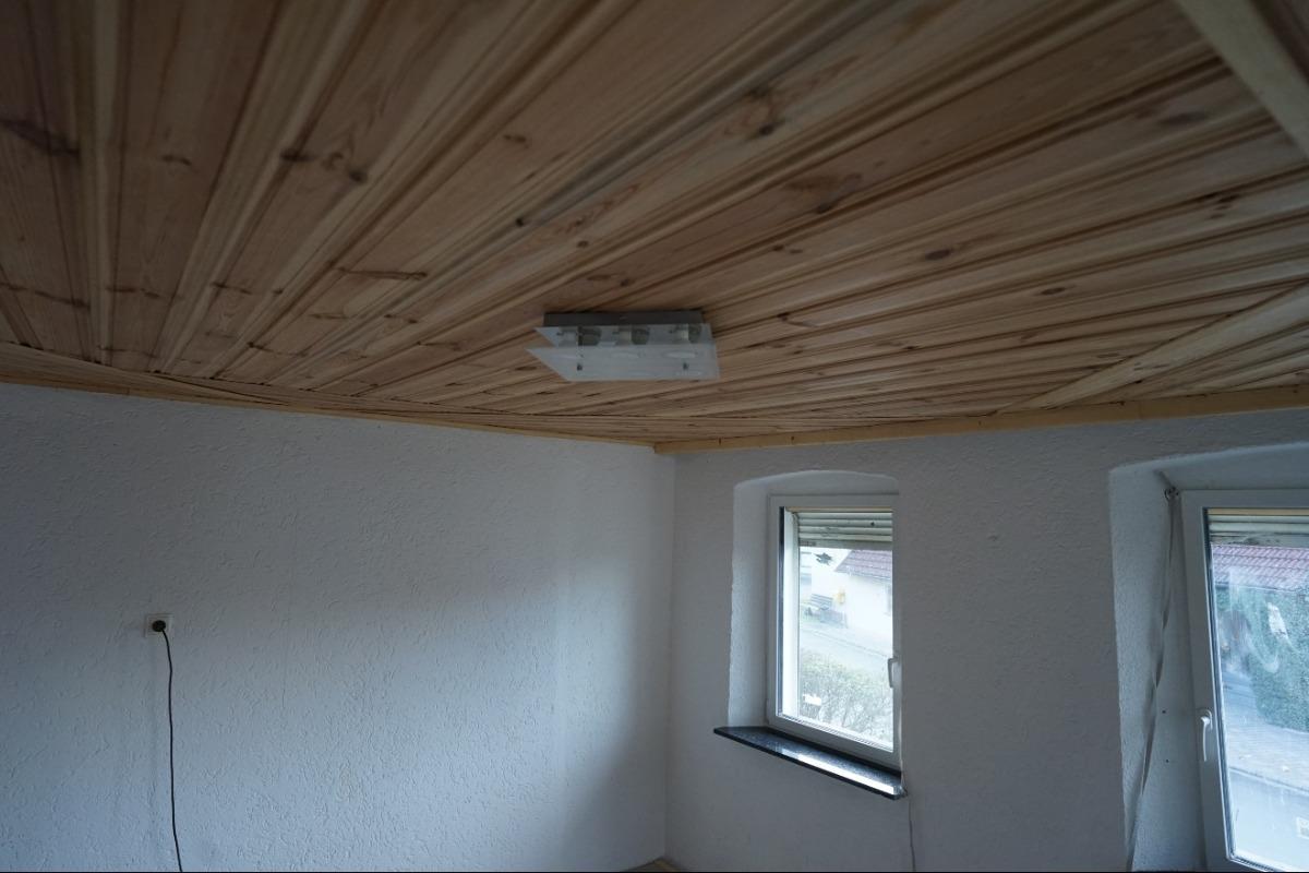 Holzverkleidung Wohnzimmer Altbau
